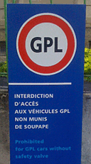 No GPL cars!